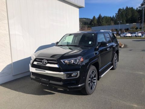 New 2020 Toyota 4Runner Limited 7-Passenger 4WD Sport Utility